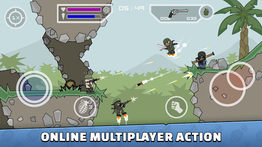 Mini Militia – Doodle Army 2 screenshots 1