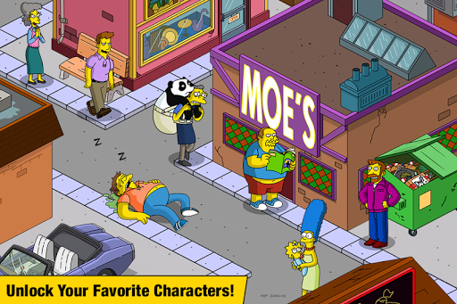 The Simpsons Tapped Out screenshots 2