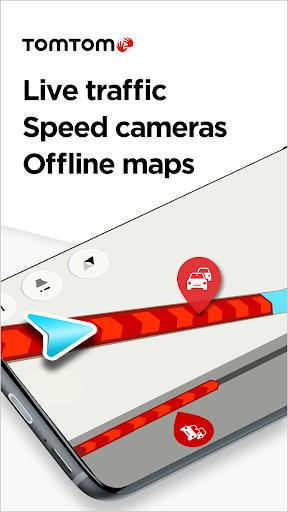 TomTom GO Navigation – GPS Maps amp Live Traffic screenshots 1