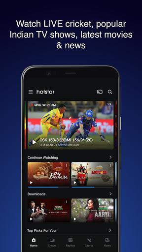 Hotstar – Live Cricket Movies TV Shows Apk Mod 1