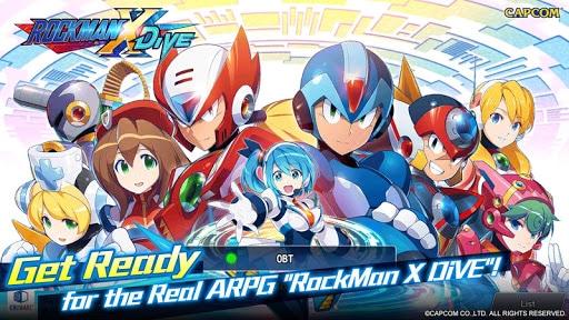 ROCKMAN X DiVE Apk Mod 1