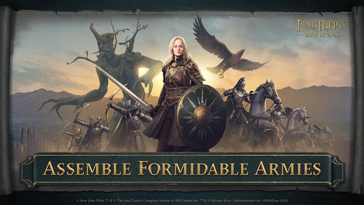 The Lord of the Rings Rise to War Apk Mod 1