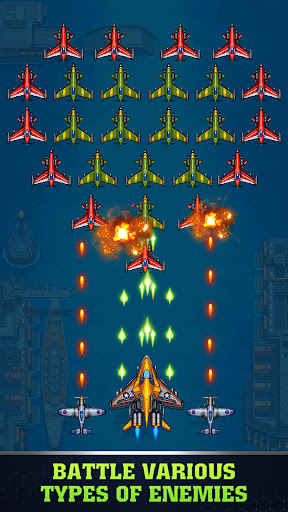 1945 Air Force Airplane games Apk Mod 1