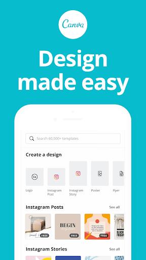 Canva Graphic Design Video Collage Logo Maker Apk Mod 1