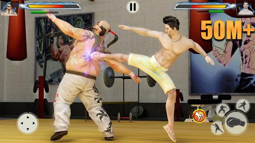 GYM Fighting Games Bodybuilder Trainer Fight PRO Apk Mod 1