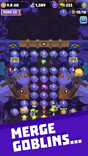 Gold and Goblins Idle Merger amp Mining Simulator Apk Mod 1