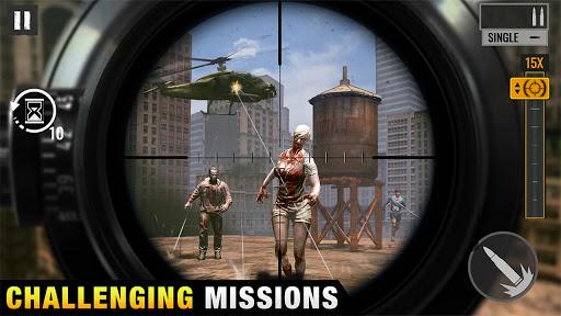 Sniper Zombies Offline Shooting Games 3D Apk Mod 1