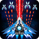Space shooter Galaxy attack 1.532 Mod Apk (Unlimited Gems, Crystal)