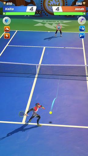 Tennis Clash 1v1 Free Online Sports Game Apk Mod 1