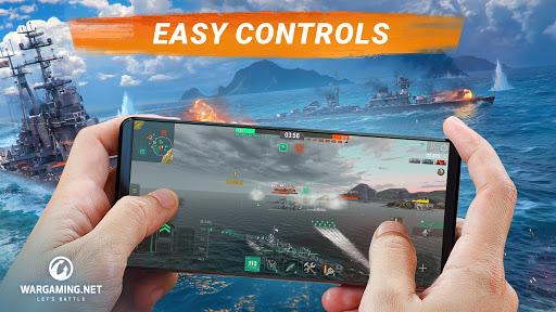 World of Warships Blitz Gunship Action War Game Apk Mod 1